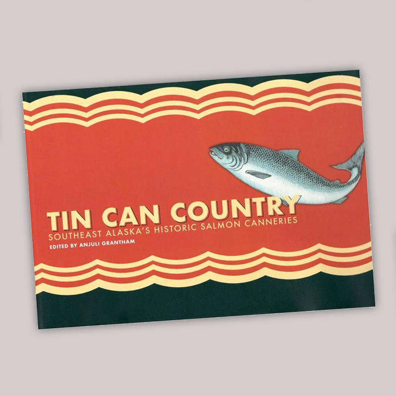 Book Design of Tin Can Country