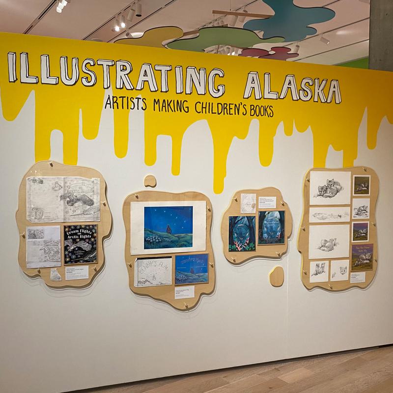 Illustrating Alaska, traveling exhibit
